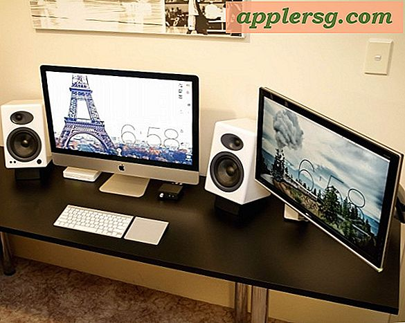 "Mac Setup: Dual Display iMac 27 ""en een Decked Out pc"