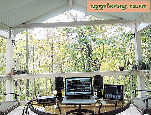"Mac Setups: Back Porch Music Studio mit einem MacBook Pro 15 ""& iPad 2"