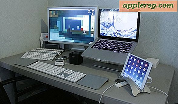 Mac setups: desk of a Film Pro & Craigslist Deal Hunter