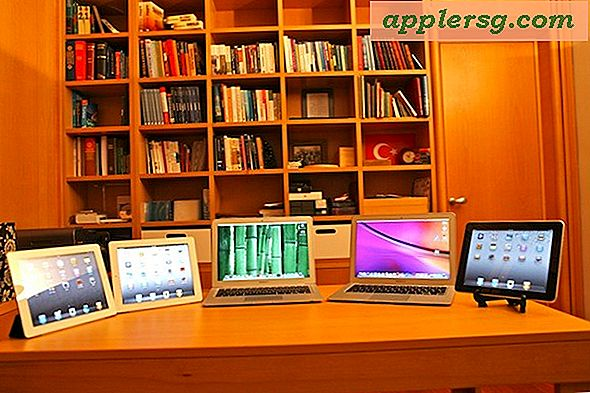 Mac-Setups: Apple-Portables