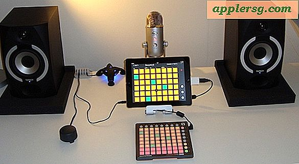 Apple-inställningar: iPad Music Studio