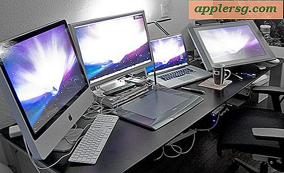 Mac Setup: studio per artisti iMac e MacBook Pro