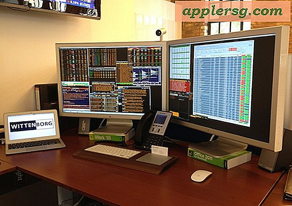 Mac setups: de Traders Desk