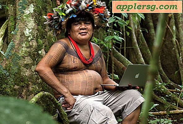 MacBook Air er Computer of Choice i en Stamme Kamp for at redde Amazonas