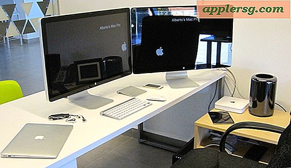 Mac-oppsett: En assistent professor for Dual Display Mac Pro