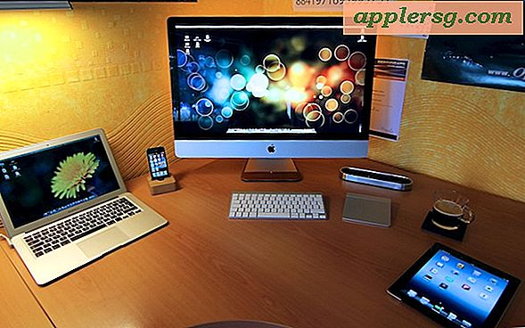 Mac-Setups: iMac + MacBook Air + iPhone + iPad