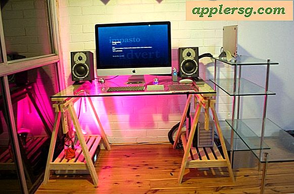 Mac-oppsett: Desk of a Technical Director
