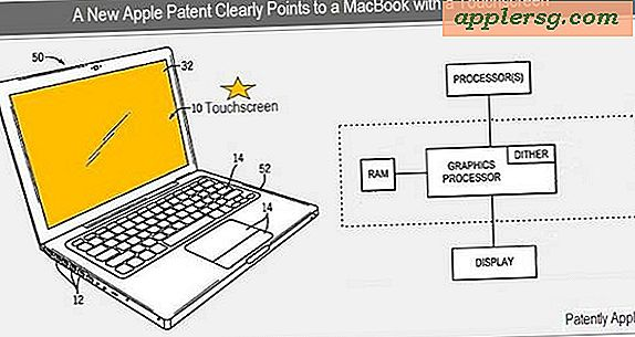 MacBook Touch?  Apple patent visar pekskärm MacBook