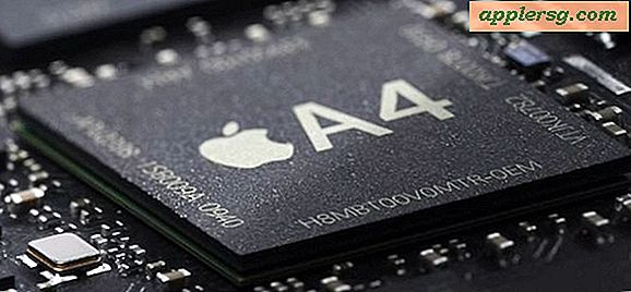 Apple Moving Macs d'Intel aux processeurs ARM?