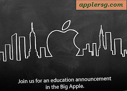 Apple Education Event planlagt til 19 januar i NYC