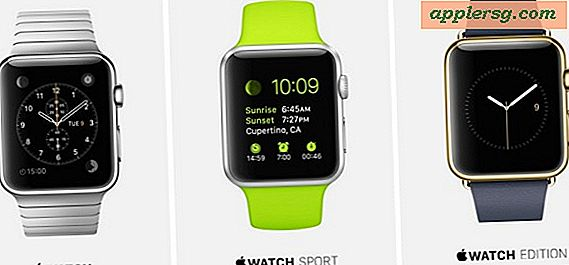 Apple Watch Release Set for april