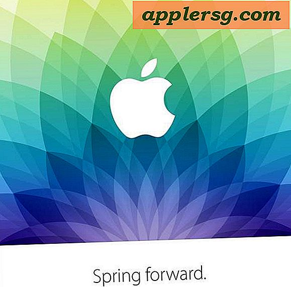"Apple veranstaltet am 9. März das LiveStreamed ""Spring Forward"" Media Event"