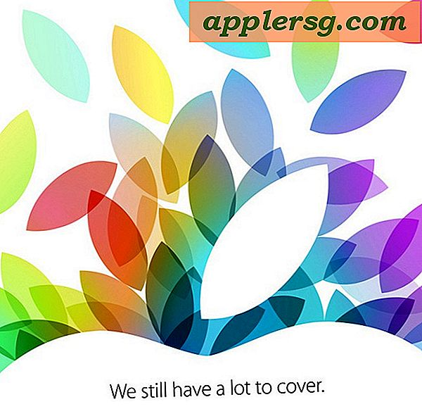 Apple Sets Event Date for October 22, New iPads Coming