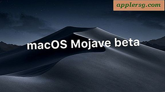 MacOS Mojave Beta 4 utgitt for testing