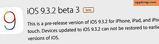 iOS 9.3.2 Beta 3 utgitt for testing