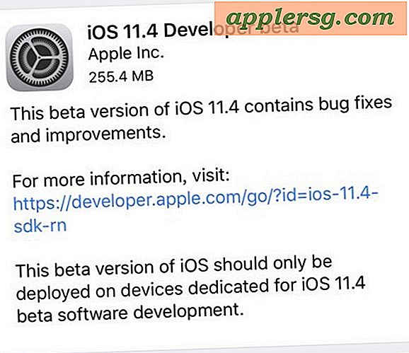 iOS 11.4 Beta 6 frigivet til test