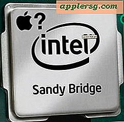 Kommer neste MacBook Pro å få Quad-Core Sandy Bridge-chips?