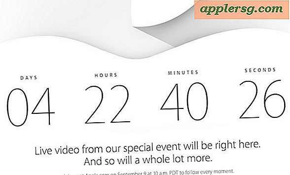 Apple wird das iPhone 6 & iWatch Event live streamen