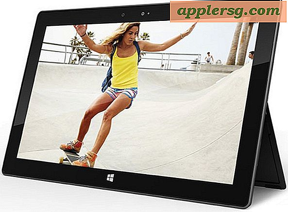 Microsoft Surface Tablet met Windows 8 richt zich op iPad