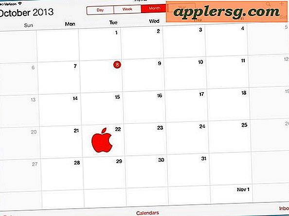 iPad 5, iPad Mini 2, Mac Pro, og OS X Mavericks Event Set til 22. oktober