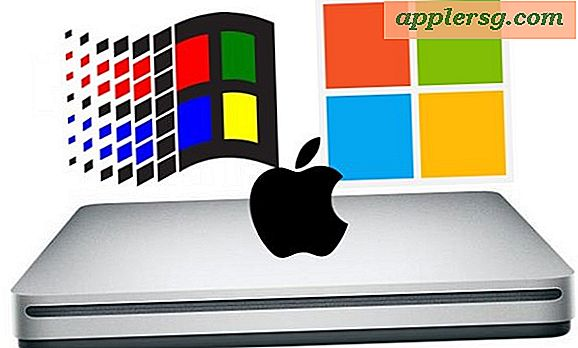 Hoe Apple SuperDrive te gebruiken met Windows en pc